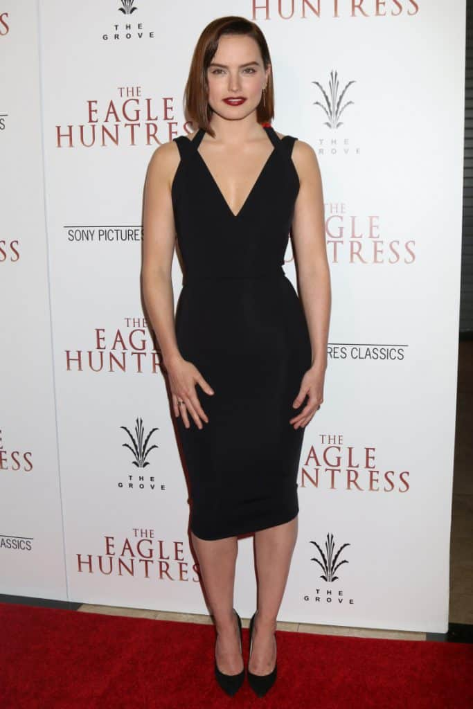 Daisy Ridley at the The Eagle Huntress Premiere