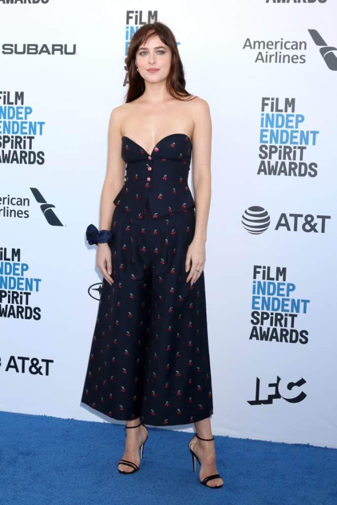 Dakota Johnson at the Film Independent Spirit Awards