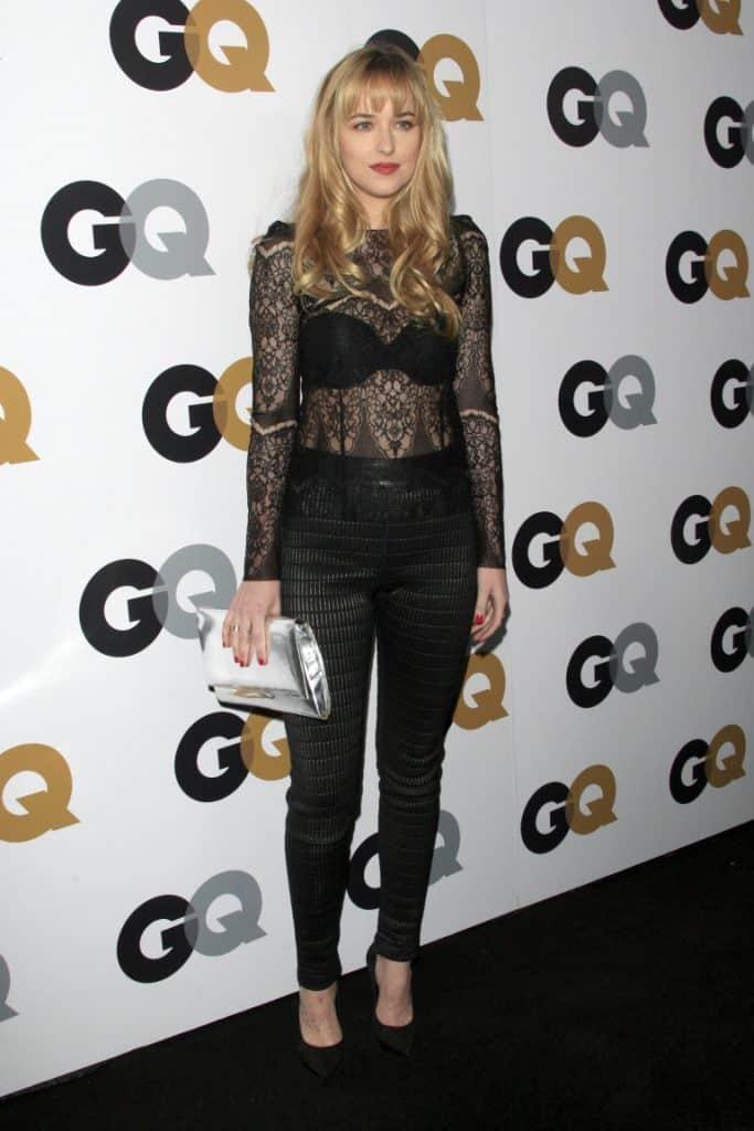 Dakota Johnson at the GQ Men Of The Year Party