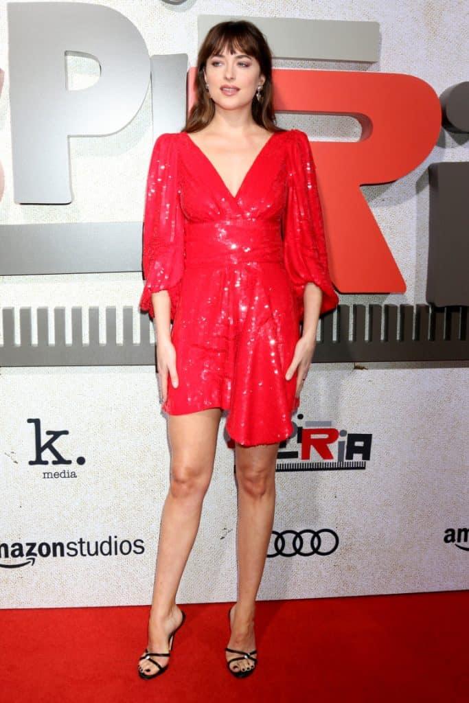 Dakota Johnson at the Suspiria Premiere