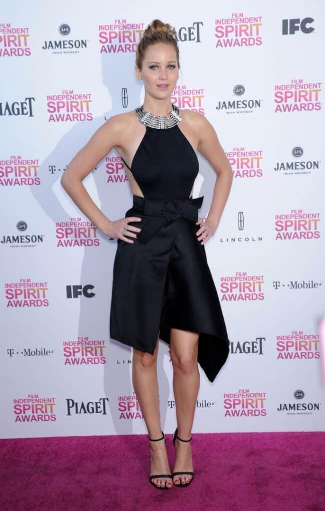 Jennifer Lawrence at the Film Independent Spirit Awards