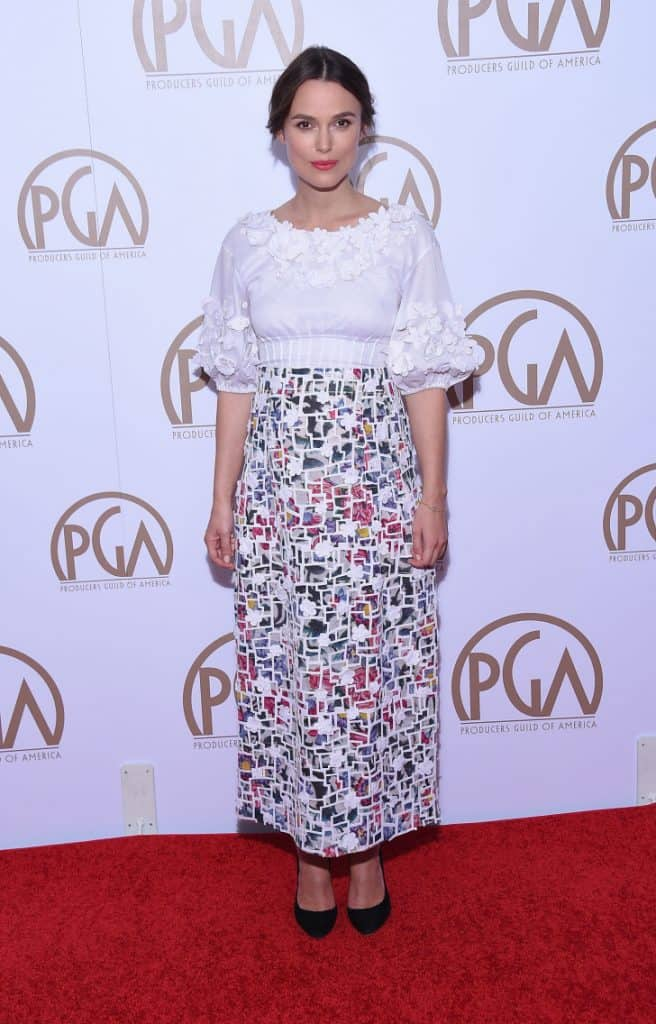 Keira Knightley at the Annual Producers Guild Awards