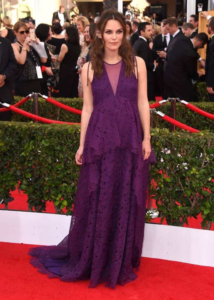 Keira Knightley at the Annual Screen Actors Guild Awards