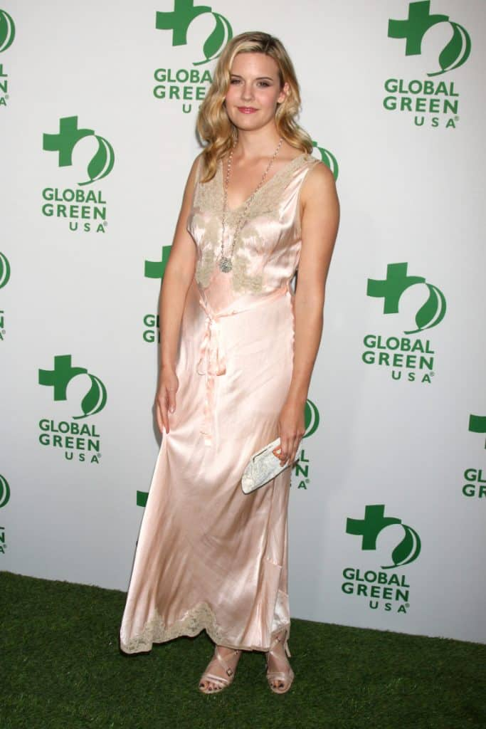 Maggie Grace at the Global Green USA Pre-Oscar Event