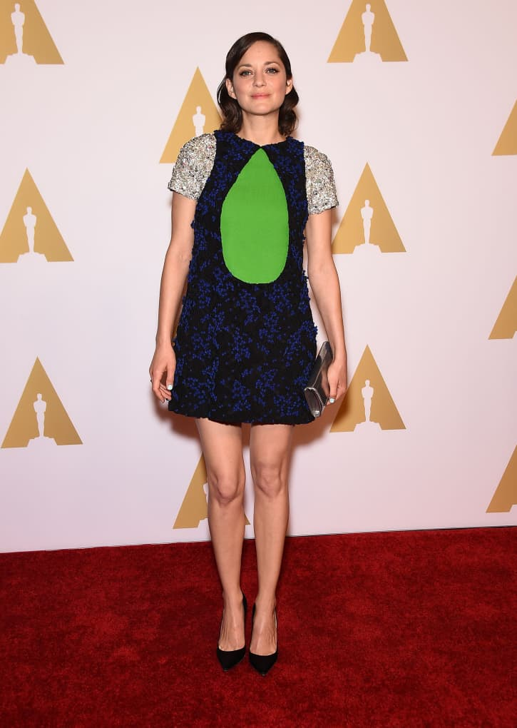 Marion Cotillard at the Oscar Nominee Reception