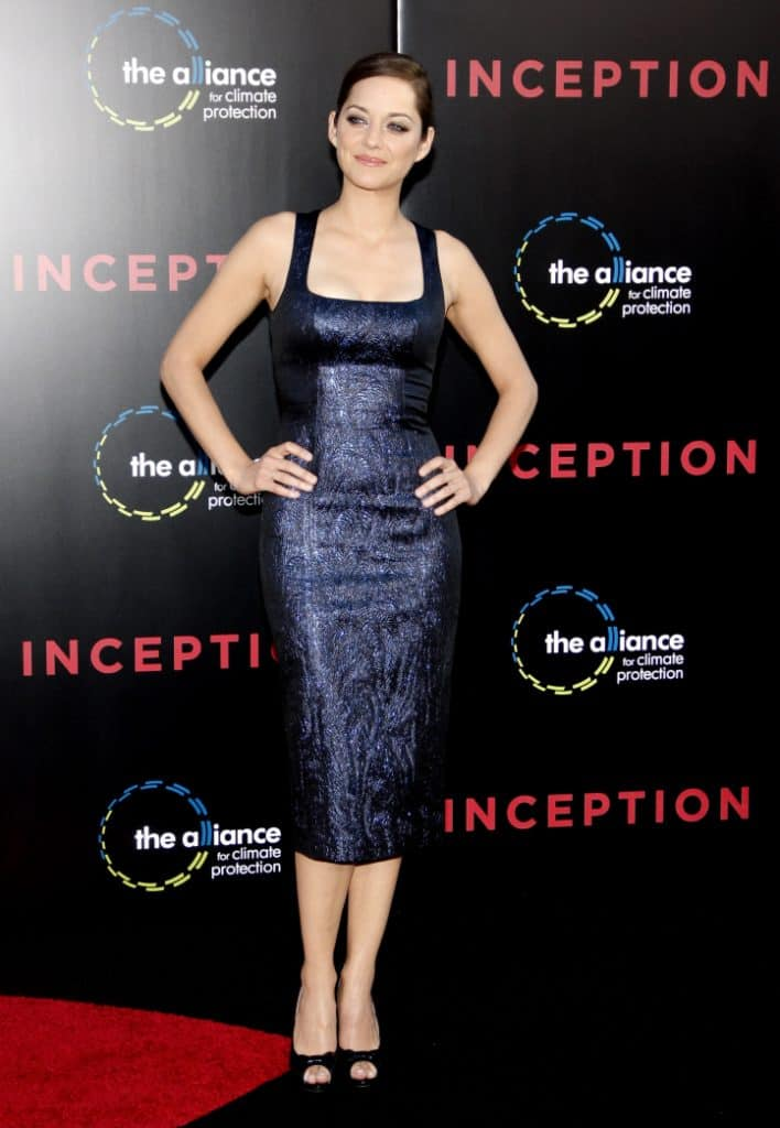 Marion Cotillard at the Premiere of Inception