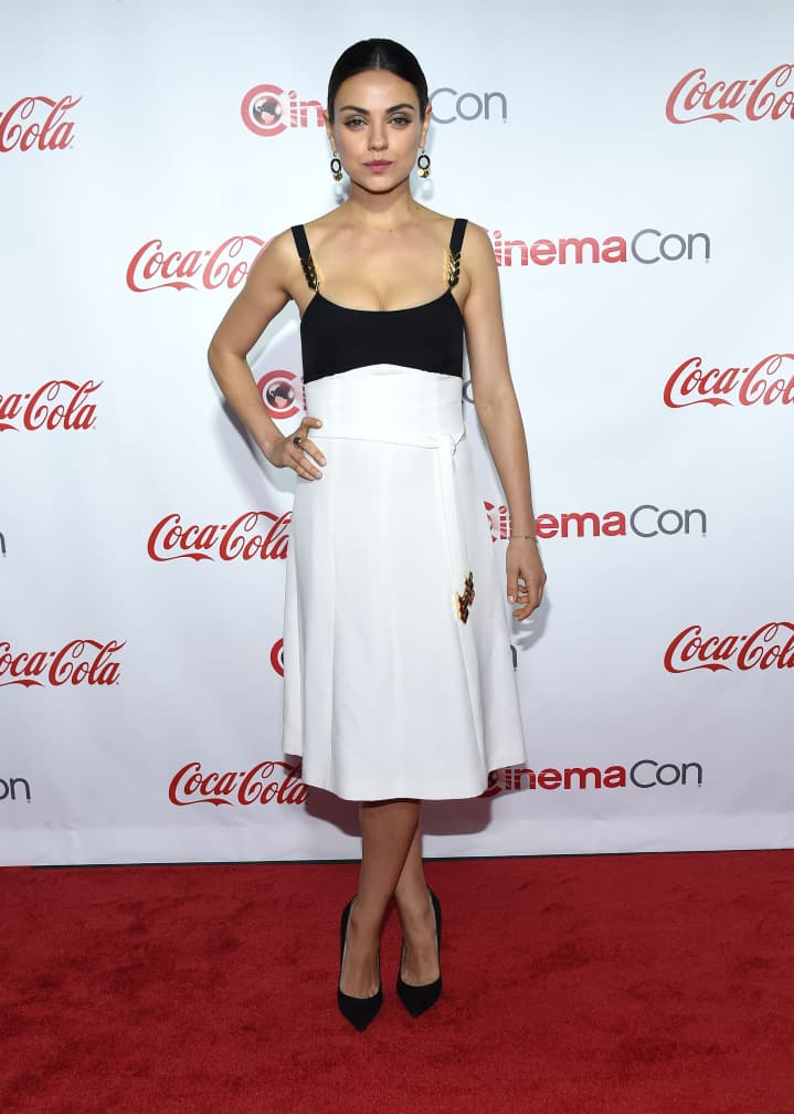 Mila Kunis at the Cinema Con Awards Gala