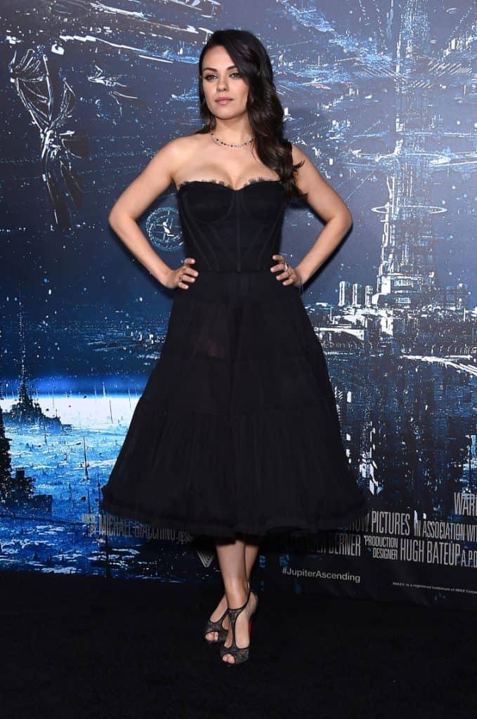 Mila Kunis at the Jupiter Ascending Premiere
