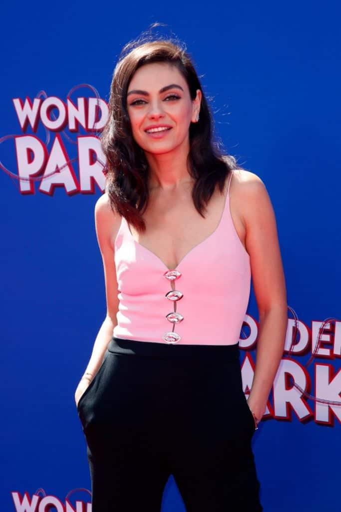 Mila Kunis at the Wonder Park Premiere