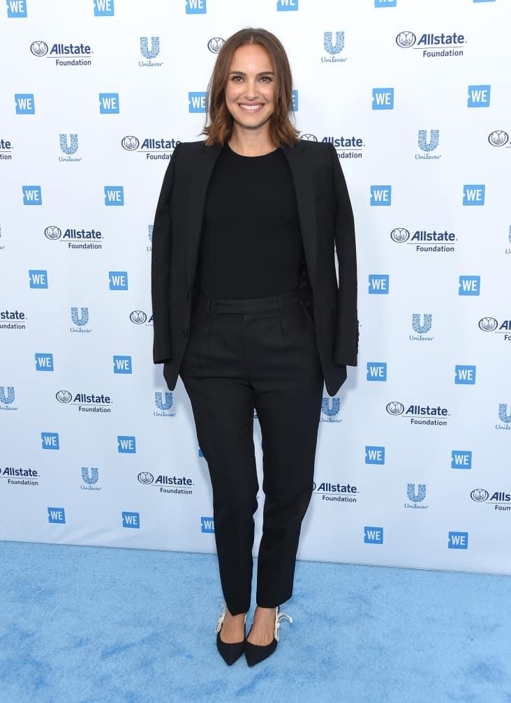 Natalie Portman arrives for WE Day California