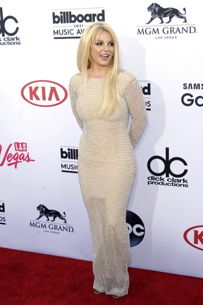 Singer Britney Spears at the Billboard Music Awards