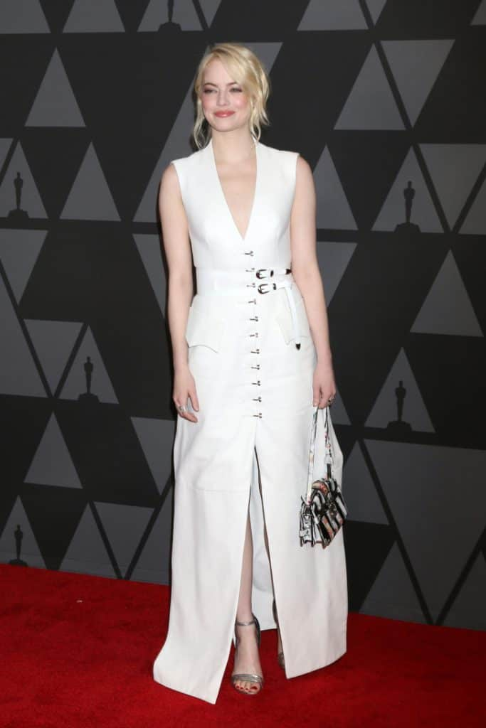 American actress Emma Stone