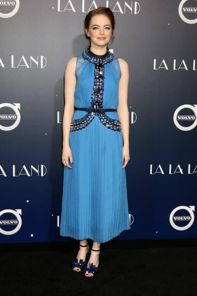 Emma Stone at the La LA Land World Premiere
