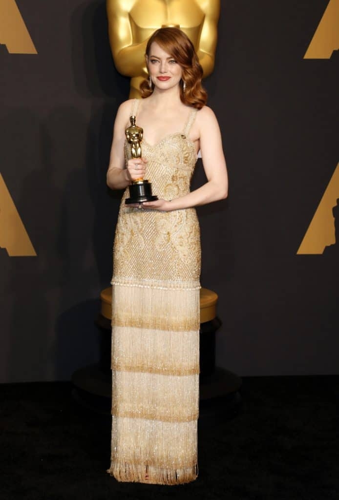 Emma Stone at the Annual Academy Awards