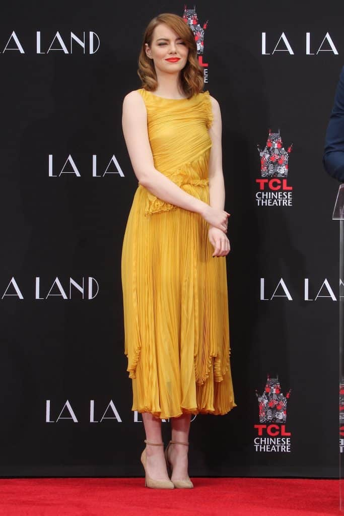 Emma Stone at the TCL Chinese Theater