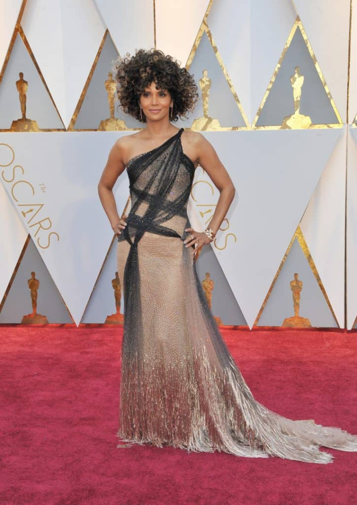 Halle Berry at the Annual Academy Awards