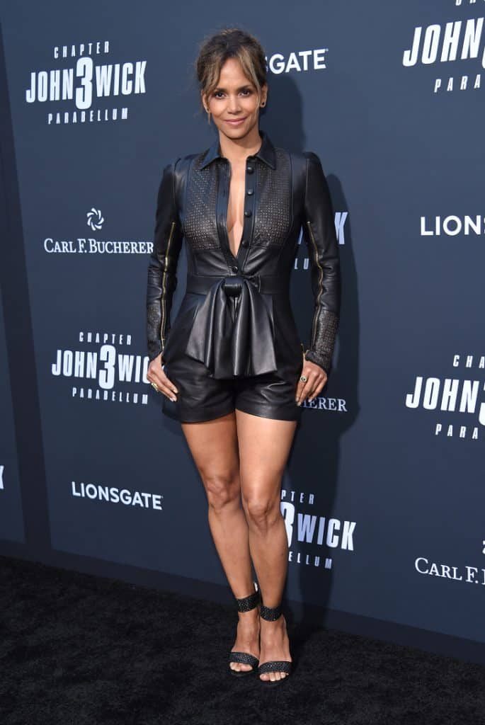 Halle Berry at the John Wick Chapter 3 - Parabellum' Screening
