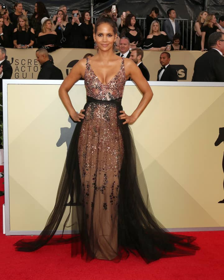 Halle Berry at the Screen Actors Guild Awards
