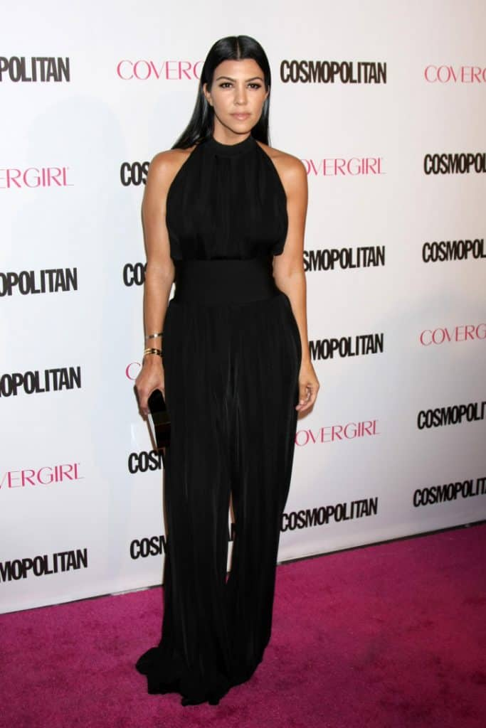 Kourtney Kardashian at the Cosmopolitan Magazine's Anniversary Party