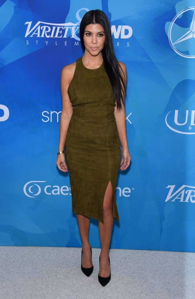 Kourtney Kardashian at the Inaugural Variety and WWD StyleMakers Event
