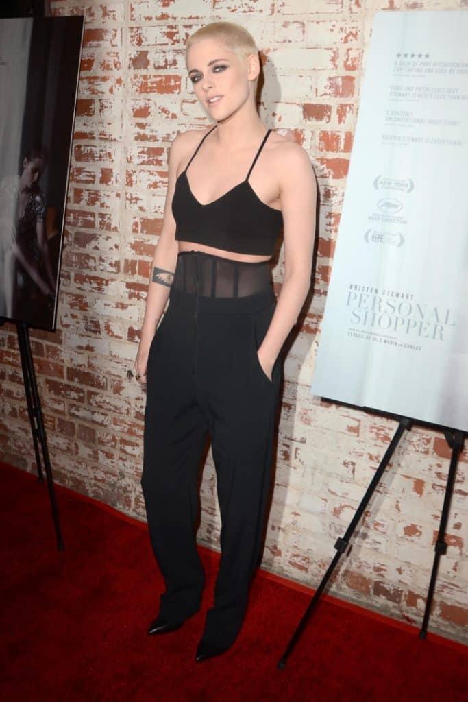 Kristen Stewart at the Personal Shopper Premiere