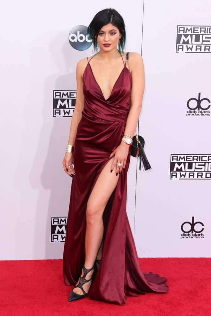 Kylie Jenner at the American Music Awards