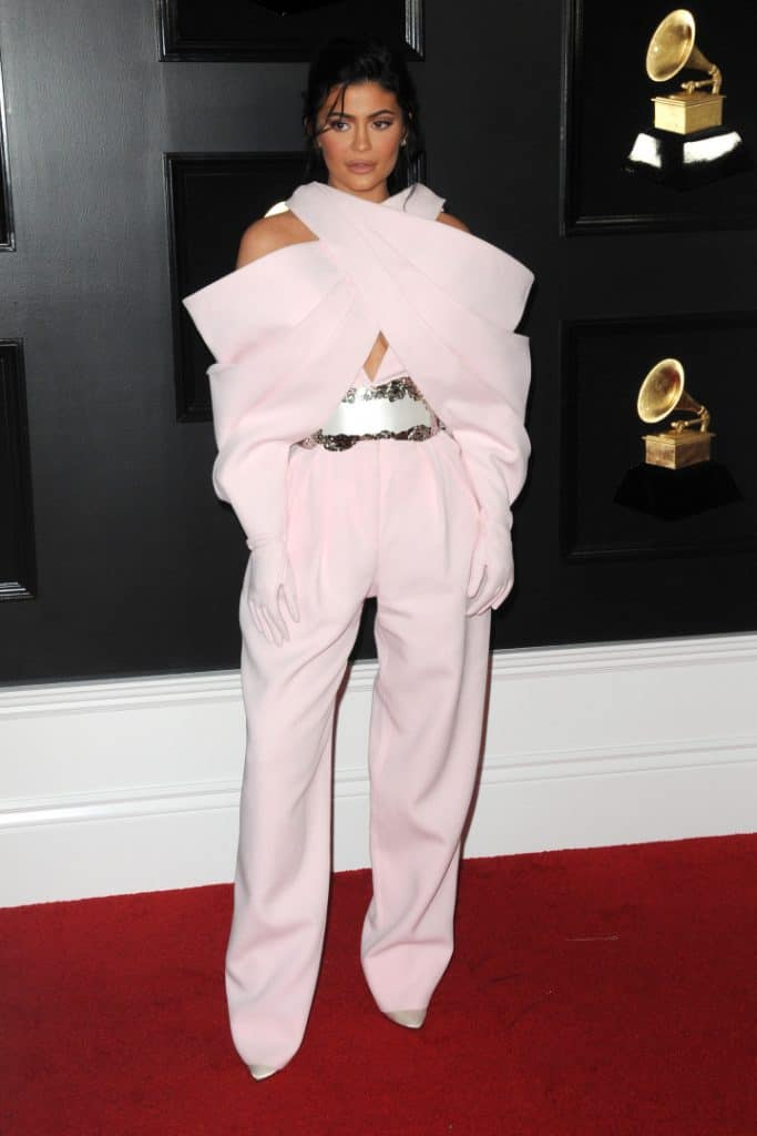 Kylie Jenner at the Grammy Awards