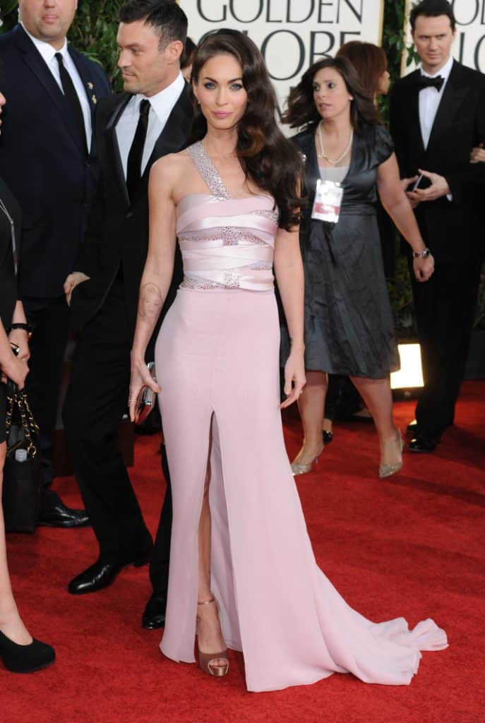 Megan Fox at the Annual Golden Globe Awards