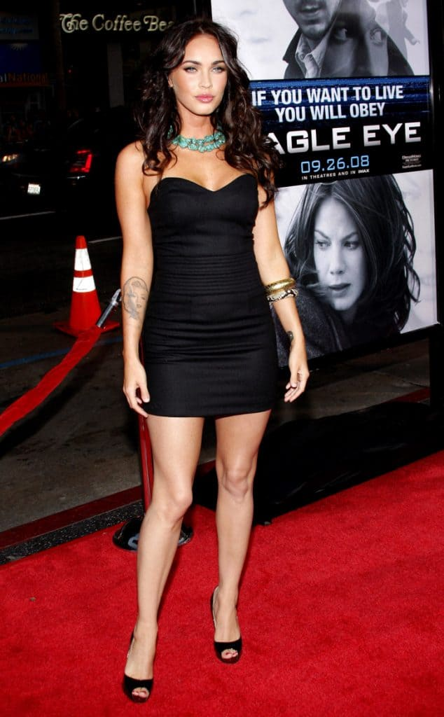 Megan Fox at the Premiere of Eagle Eye
