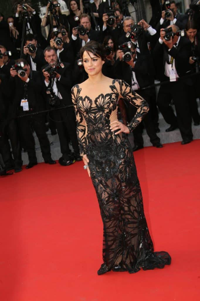 Michelle Rodriguez at the Cannes Film Festival
