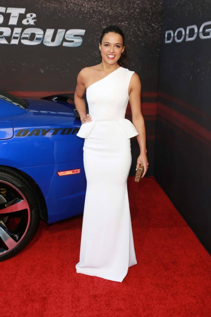 Michelle Rodriguez at the Fast And Furious 6 Premiere