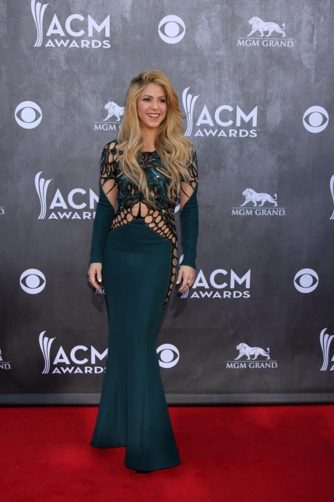 Shakira at the Academy of Country Music Awards
