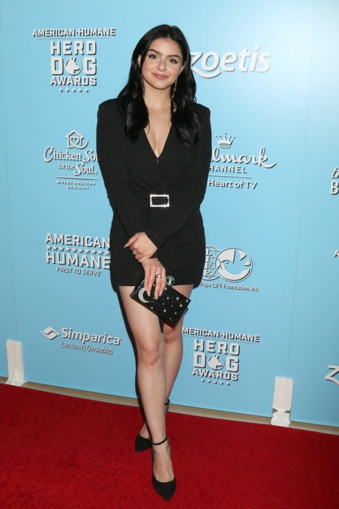Ariel Winter at the Annual American Humane Hero Dog Awards