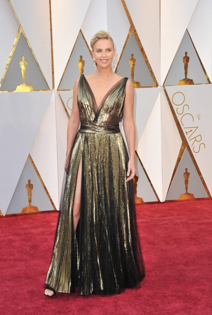 Charlize Theron at the Annual Academy Awards
