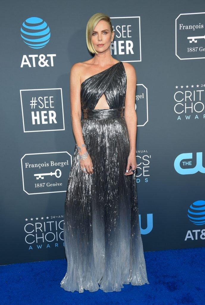 Charlize Theron at the Annual Critics' Choice Awards
