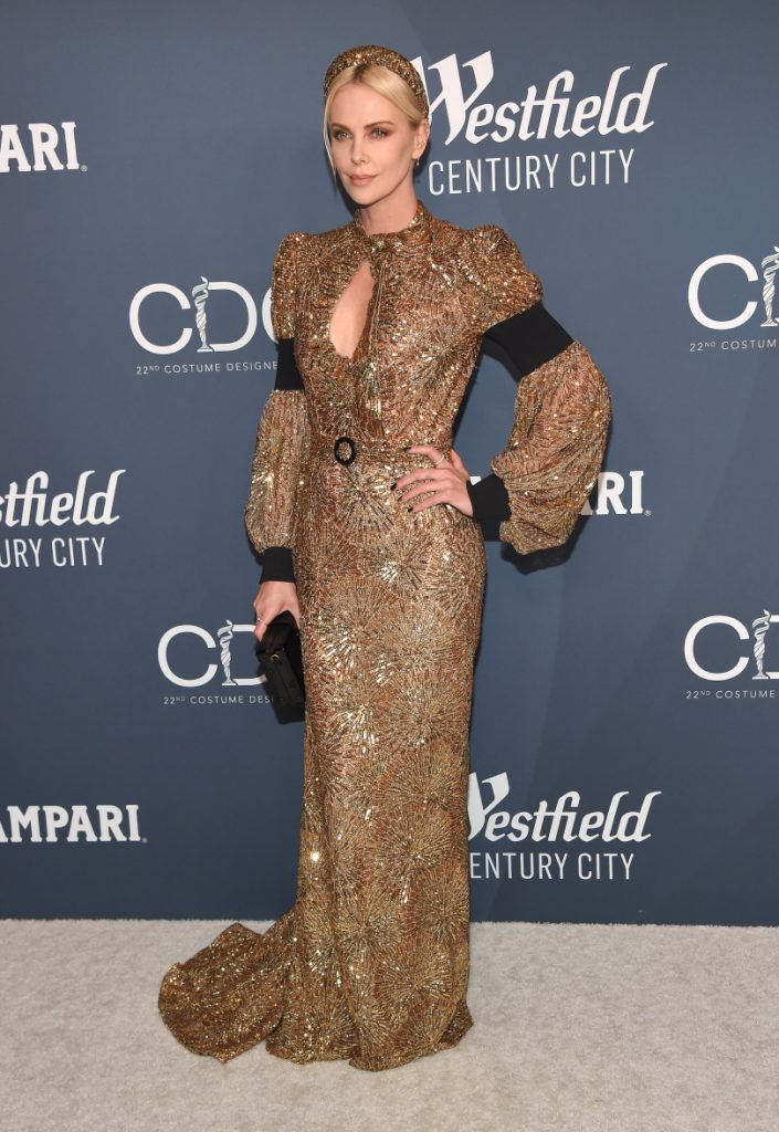 Charlize Theron at the Costume Designers Guild Awards