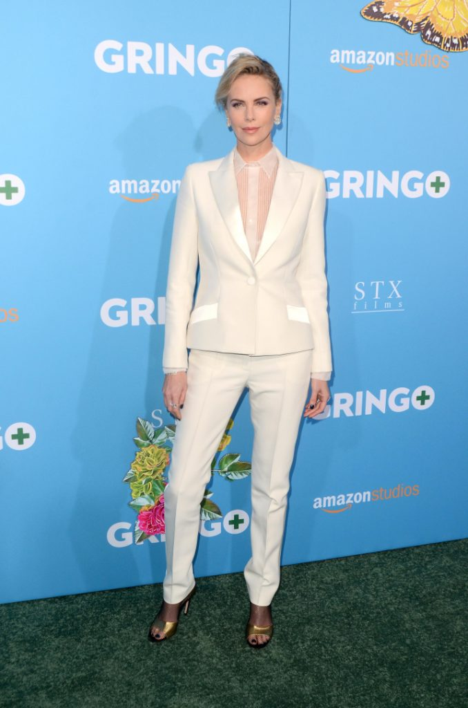 Charlize Theron at the Gringo Premiere