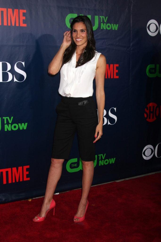 Daniela Ruah at the CBS TCA July Party