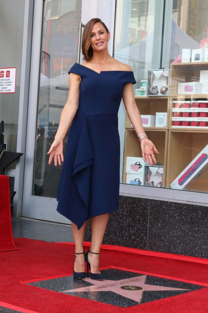 Jennifer Garner at the Jennifer Garner Star Ceremony on the Hollywood Walk of Fame