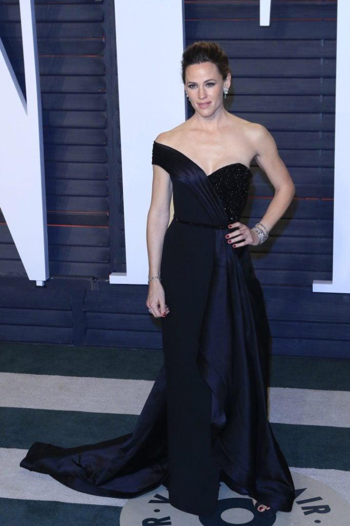 Jennifer Garner at the Vanity Fair Oscar Party