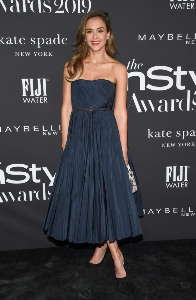 Jessica Alba in the InStyle Awards