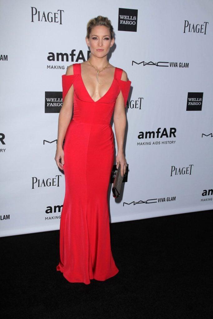 Kate Hudson at the amfAR Inspiration Gala