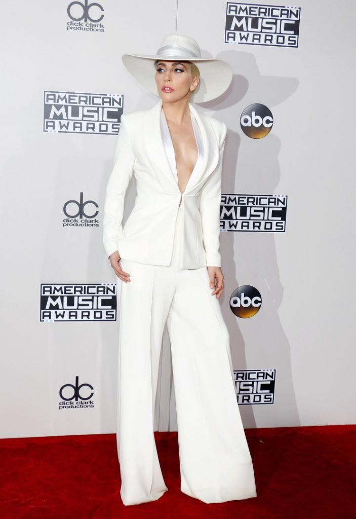 Lady Gaga at the American Music Awards