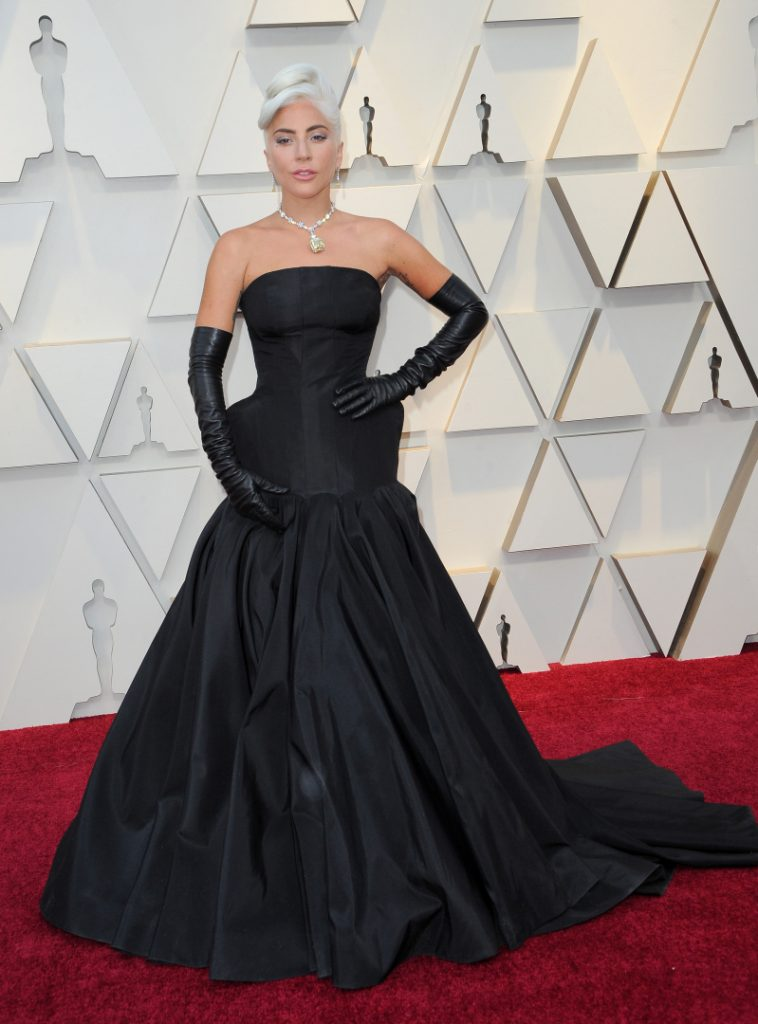 Lady Gaga at the Annual Academy Awards