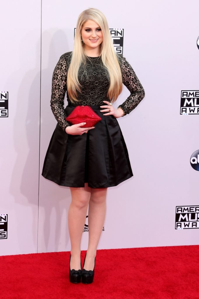Meghan Trainor at the American Music Awards