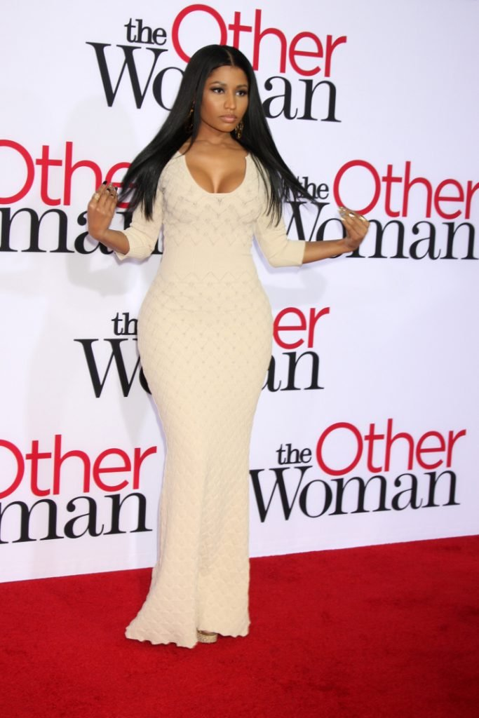 Nicki Minaj at the The Other Woman Premiere