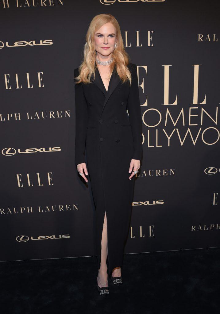 Nicole Kidman arrives for the ELLE Women
