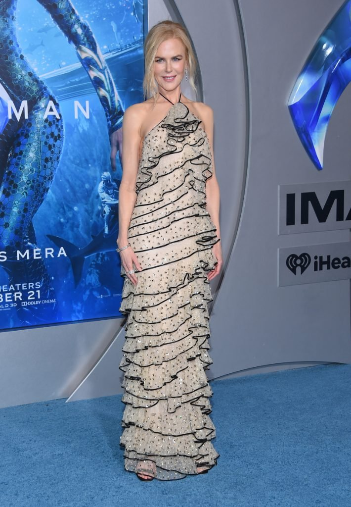 Nicole Kidman arrives to Aquaman Hollywood Premiere