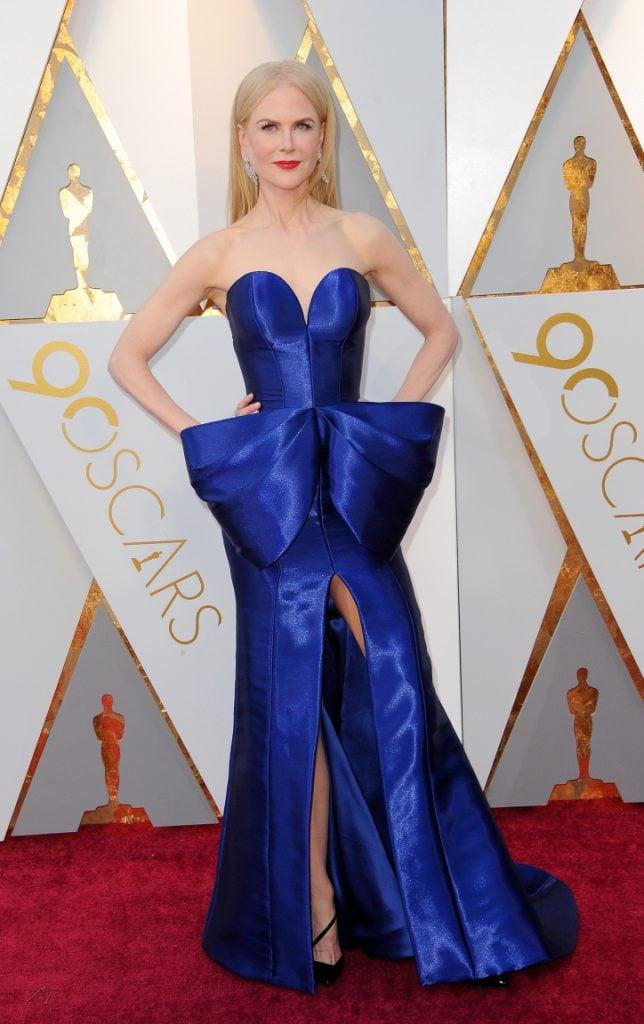 Nicole Kidman at the Annual Academy Awards