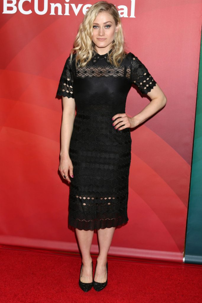 Olivia Taylor Dudley at the NBC Universal Cable TCA
